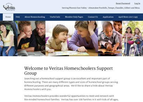 custom genesis theme for an educational members group website