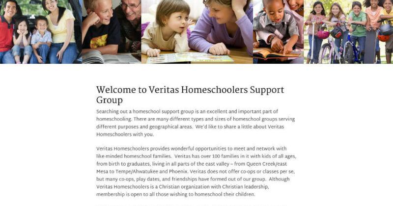 custom genesis theme for an educational group members website