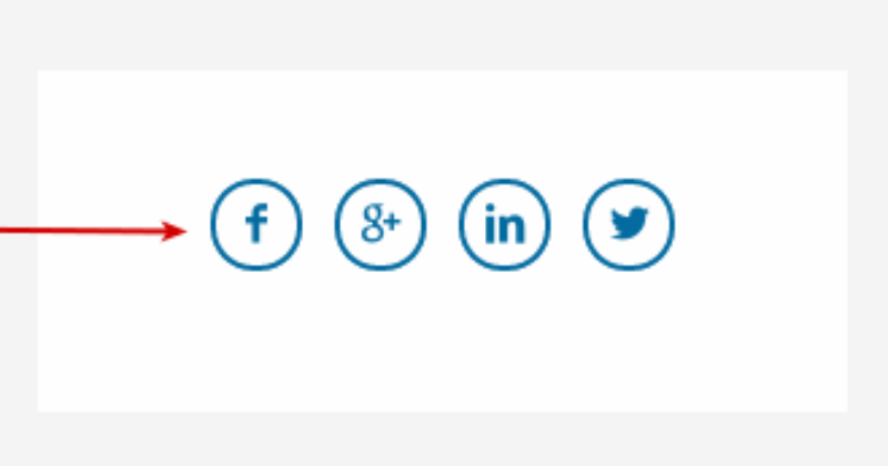 simple social icons styles