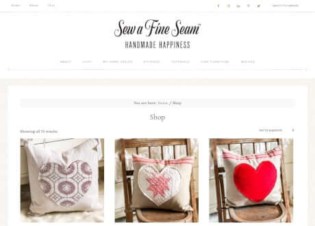 small business woocommerce shop for creative
